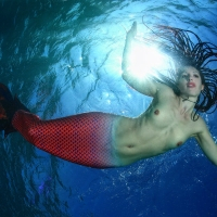 Mermaid Shooting mit Arturo Telle